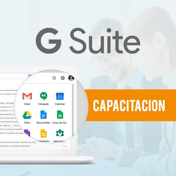 G Suite Capacitación Mensajería